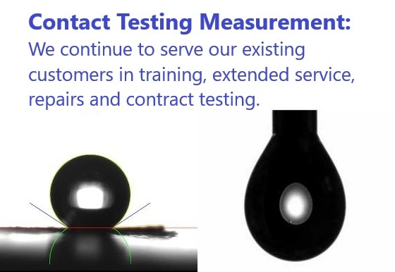 Contact Angle Measurements