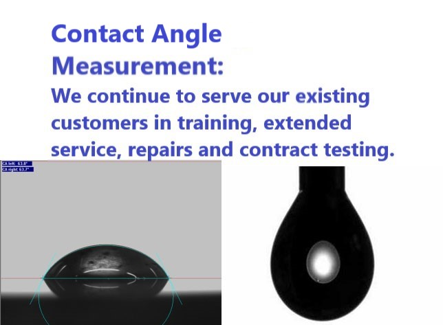Contact Angle Measurements